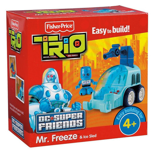 Fisher Price Trio DC Super Friends Mr. Freeze Playset [Damaged Package]
