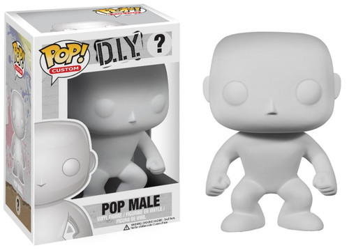 Funko POP! Male DIY Vinyl Figure [Damaged Package]