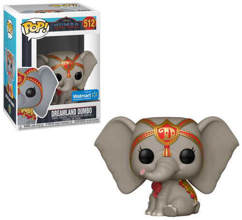 Funko Disney POP! Dreamland Dumbo Exclusive Vinyl Figure #512 [Red, Damaged Package]