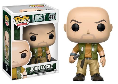 Funko Lost POP! TV John Locke Vinyl Figure #417 [Damaged Package]