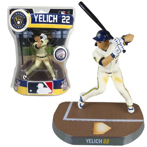MLB Milwaukee Brewers 2020 Christian Yelich Action Figure