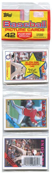 MLB Topps 1988 All Star Baseball Trading Card RACK Pack [43 Cards!]