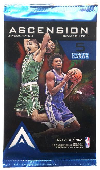 NBA Panini 2017-18 Ascension Basketball Trading Card Pack