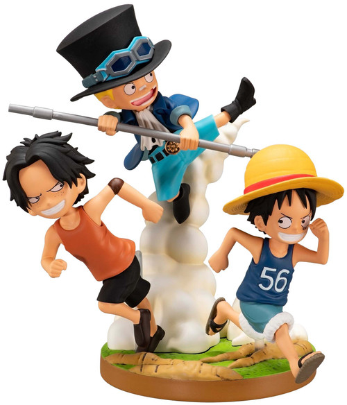 One Piece Ichiban The Bonds of Brothers 4.7-Inch Collectible PVC Figure