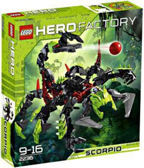 LEGO Hero Factory Scorpio Set #2236 [Damaged Package]