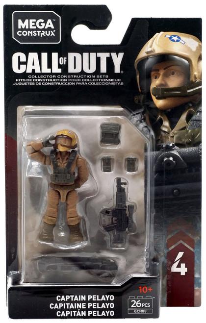Call of Duty Specialists Series 4 Captain Pelayo Mini Figure GCN88