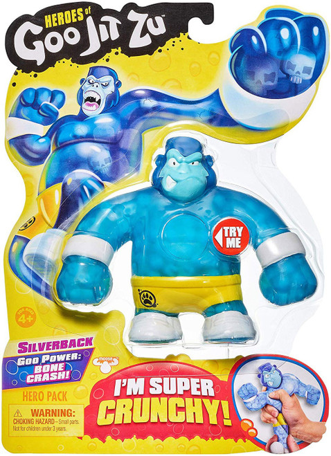 Heroes of Goo Jit Zu Silverback Action Figure [Gorilla]