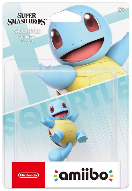 Nintendo Super Smash Bros Amiibo Squirtle Mini Figure
