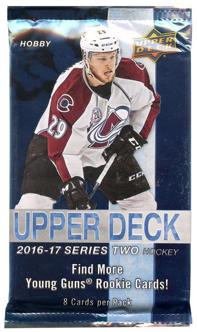NHL 2016-17 Hockey Series 2 Trading Card HOBBY Pack [8 Cards]