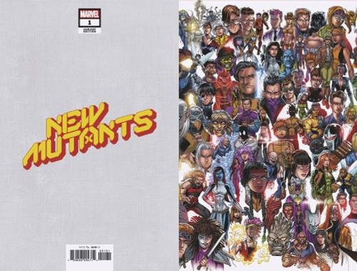 Marvel Comics New Mutants #1 Comic Book [Mark Bagley Every Mutant Variant Cover]