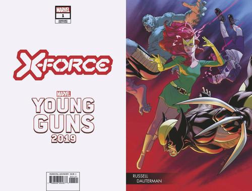 Marvel Comics X-Force #1 Comic Book [Russell Dauterman Variant Cover]