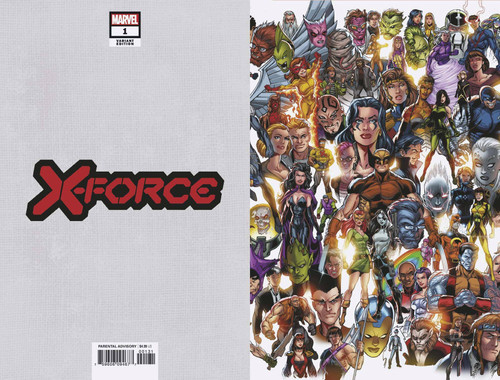 Marvel Comics X-Force #1 Comic Book [Mark Bagley Every Mutant Variant Cover]