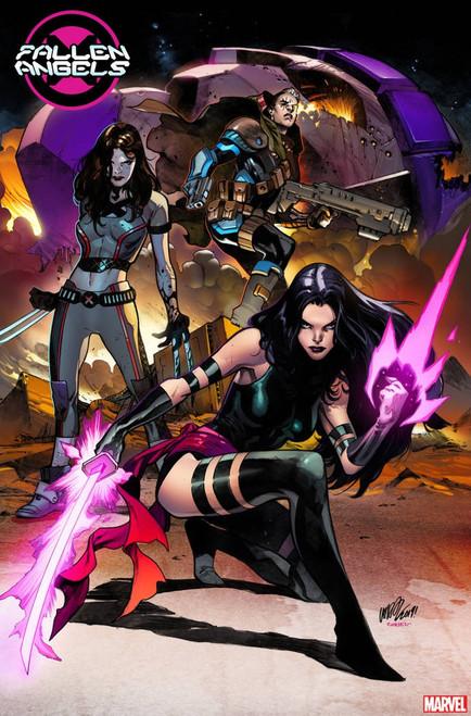 Marvel Comics Fallen Angels #1 Comic Book [Pepe Larraz Young Guns Variant Cover]