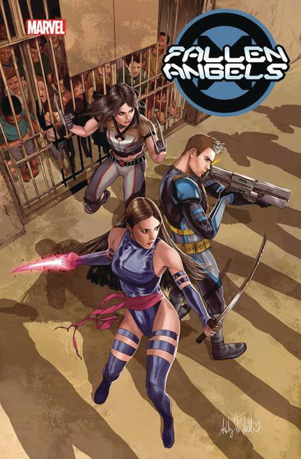 Marvel Comics Fallen Angels #2 Comic Book