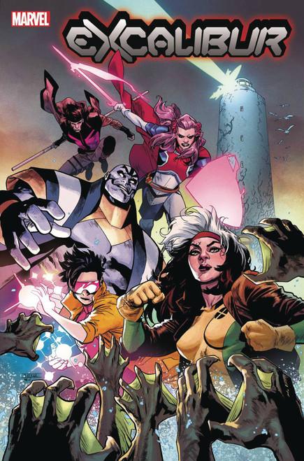 Marvel Comics Excalibur #2 Comic Book
