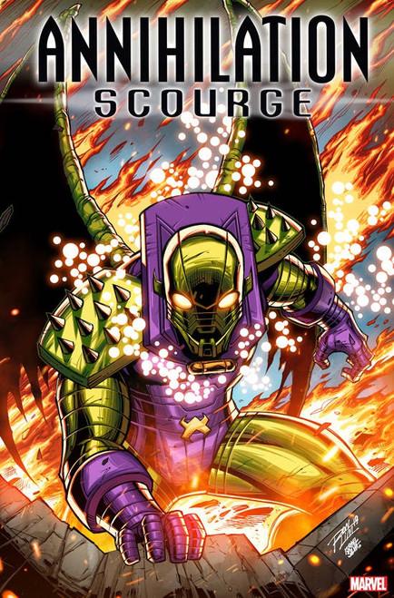 Marvel Comics Annihilation #1 Scourge Alpha Comic Book [Ron Lim Variant Cover]