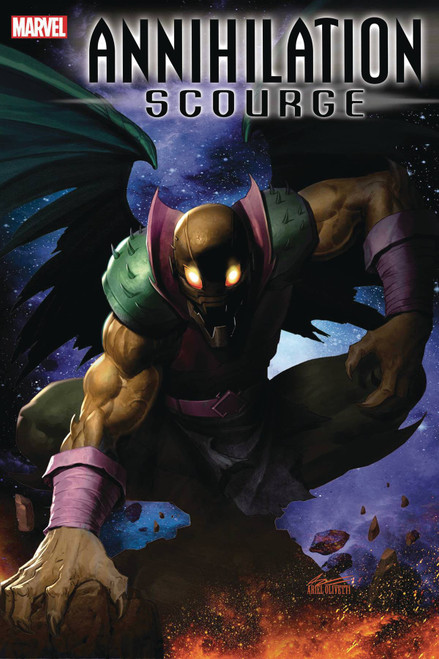 Marvel Comics Annihilation #1 Scourge Alpha Comic Book [Ariel Olivetti Variant Cover]