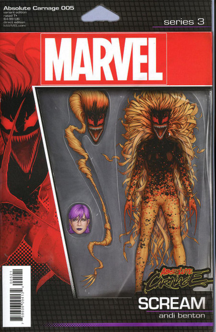 Marvel Comics Absolute Carnage #5 Comic Book [John Tyler Christopher Action Figure Variant Cover]