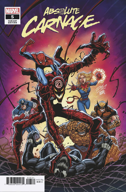 Marvel Comics Absolute Carnage #5 Comic Book [Ron Lim Variant Cover]