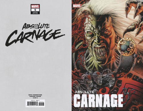 Marvel Comics Absolute Carnage #5 Comic Book [Kyle Hotz Connecting Variant Cover]