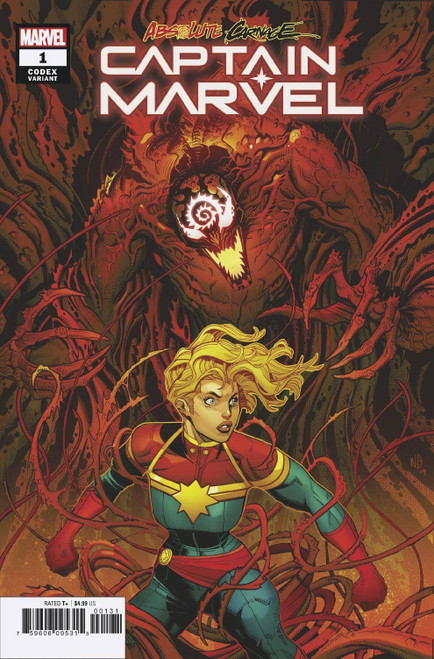 Marvel Comics Absolute Carnage Captain Marvel #1 Comic Book [Andrea Broccardo Variant Cover]