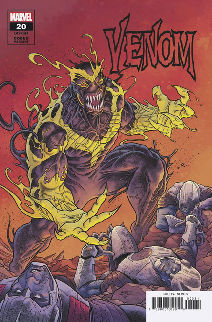 Marvel Comics Venom #20 Comic Book [Codex Variant Cover]