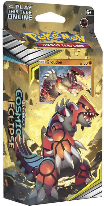 Pokemon Trading Card Game Sun & Moon Cosmic Eclipse Towering Heights Theme Deck [Groudon]