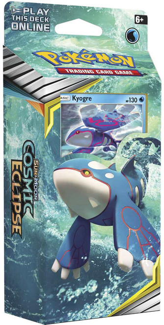 Pokemon Trading Card Game Sun & Moon Cosmic Eclipse Unseen Depths Theme Deck [Kyogre]