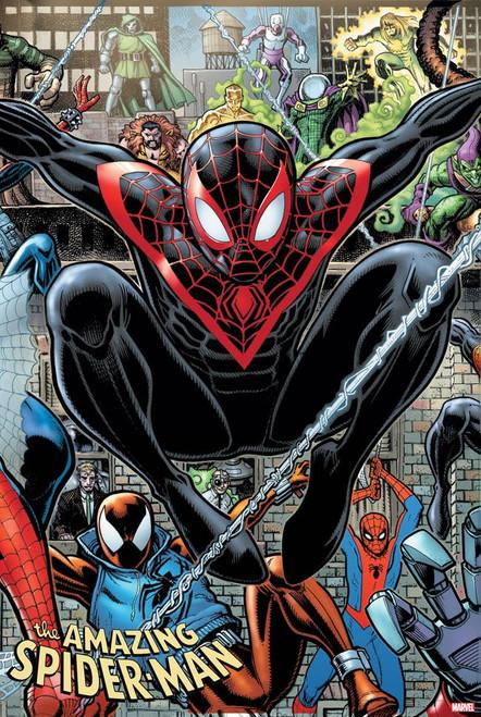Marvel Comics Amazing Spider-Man #34 2099 Comic Book [Arthur Adams Connecting Variant Cover]