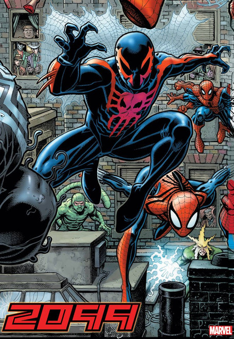 Marvel Comics 2099 #1 Alpha Comic Book [Art Adams Connecting Variant Cover]