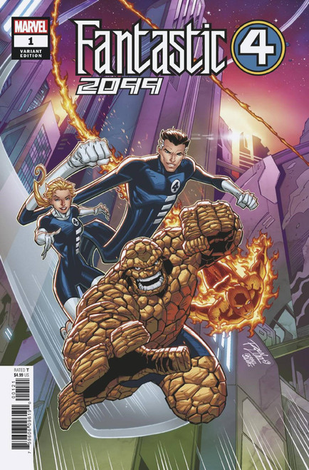 Marvel Comics Fantastic Four 2099 #1 Comic Book [Ron Lim Variant Cover]