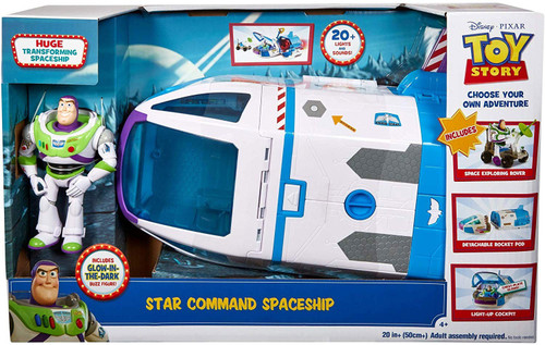 Toy Story 4 Star Command Spaceship Playset