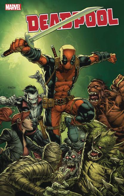 Marvel Comics Deadpool #1 Comic Book [David Finch Variant Cover]