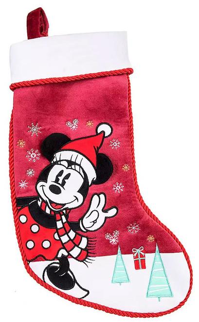 Disney 2019 Holiday Minnie Mouse Exclusive Plush Christmas Stocking