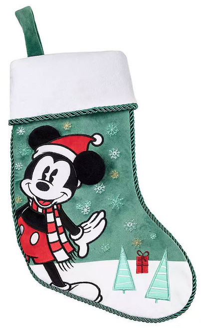 Disney 2019 Holiday Mickey Mouse Exclusive Plush Christmas Stocking