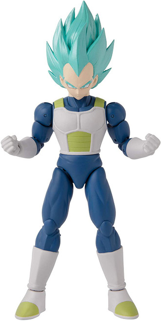 Dragon Ball Super Dragon Stars Series 16 Super Siayan Blue Vegeta V2 Action Figure