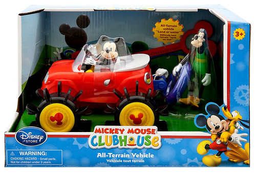 Disney Mickey Mouse Clubhouse Mickey Mouse All-Terrain Vehicle Exclusive [Damaged Package]
