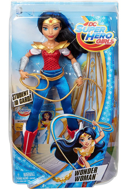 DC Super Hero Girls Wonder Woman 12-Inch Deluxe Doll [Damaged Package]