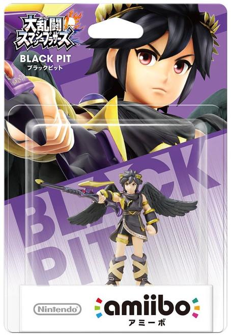 Nintendo Japanese Amiibo Black Pit Mini Figure [Damaged Package]