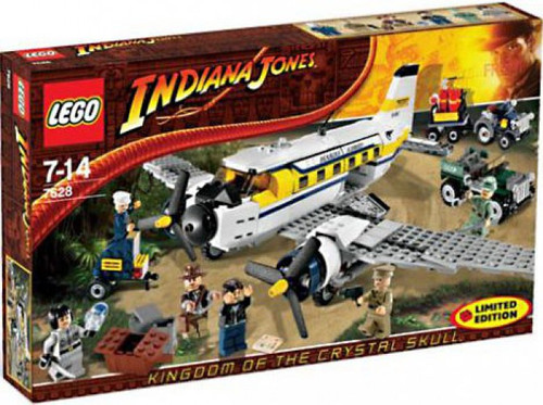 LEGO Indiana Jones Peril in Peru Exclusive Set #7628 [Damaged Package]