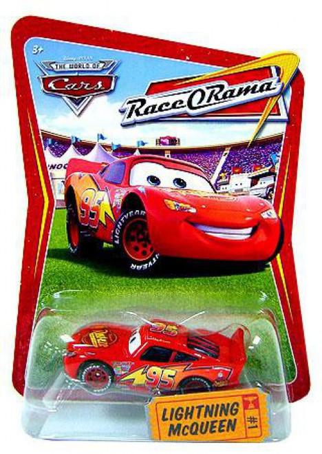 Disney / Pixar Cars The World of Cars Race-O-Rama Lightning McQueen Diecast Car #1 [Loose]
