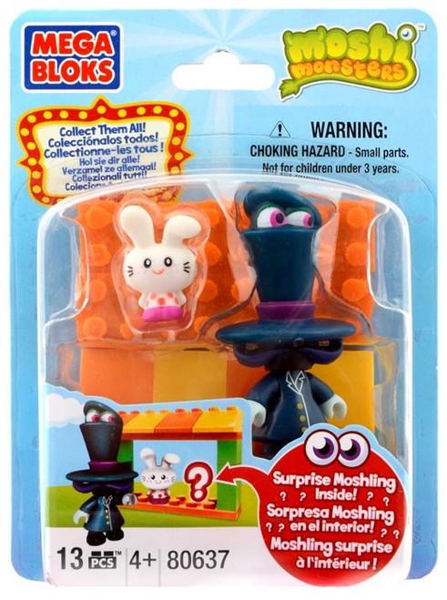 Mega Bloks Moshi Monsters Moshling Zoo and Dr. Strangeglove Set #80637 [Damaged Package]
