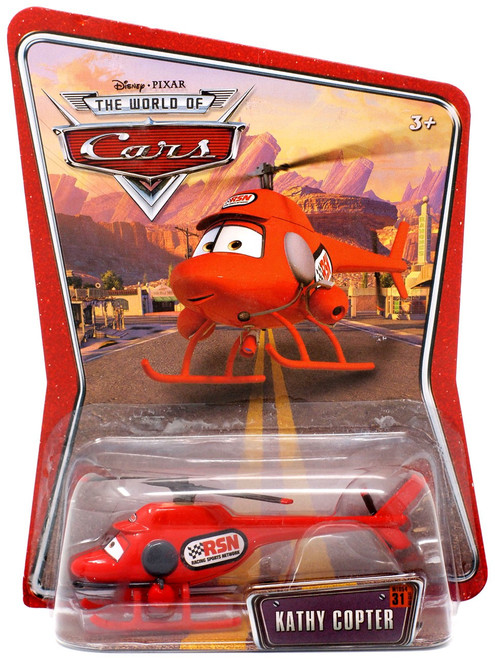 Disney / Pixar Cars The World of Cars Kathy Copter Diecast Car [Loose]