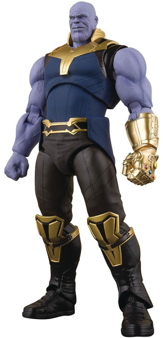 Marvel Avengers Infinity War S.H. Figuarts Thanos Action Figure [Damaged Package]