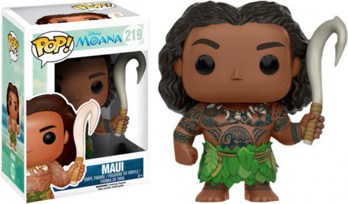Funko Moana POP! Disney Maui Exclusive Vinyl Figure #219 [Damaged Package]