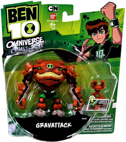 Ben 10 Omniverse Gravattack Action Figure [Damaged Package]
