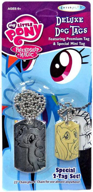 My Little Pony Friendship is Magic Pinkie Pie & Fluttershy Dog Tag 2-Pack [Loose]
