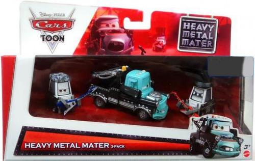 Disney / Pixar Cars Cars Toon Multi-Packs Heavy Metal Mater 3-Pack Exclusive Diecast Car Set [Loose]
