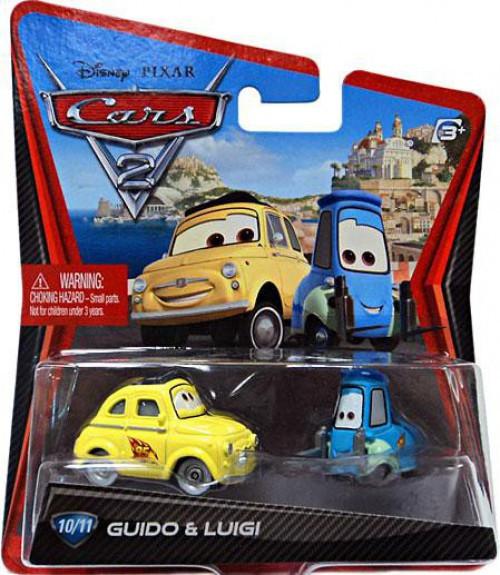 Disney / Pixar Cars Cars 2 Main Series Guido & Luigi Diecast Car [Loose]