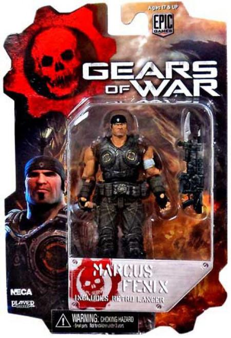 NECA Gears of War 3 Series 2 Marcus Fenix Action Figure [Loose]